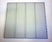 クリンプ金網・ステンレスエキスパンド製ケージ棚板・全体の画像です。