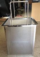 パンチングメタル_排水トラップ用パンチングカゴ(深型)・全体のサンプル画像です。