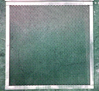 「金網」の大栄金網工業株式会社。「蒸し器用平網(エキスパンドメタル)」のサンプル画像です。