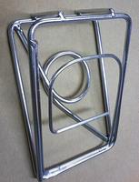 「金網」の大栄金網工業株式会社。「ステンレス製・デザインクリップ」のサンプル画像です。