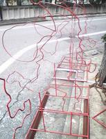 「金網」の大栄金網工業株式会社。「チューブライト用線材加工品」のサンプル画像です。