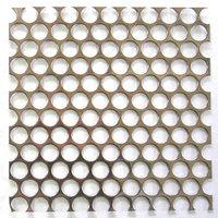 「金網」の大栄金網工業株式会社。「パンチングメタル」のサンプル画像です。