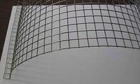 「金網」の大栄金網工業株式会社。「空調用フィルター押さえ金網」のサンプル画像です。