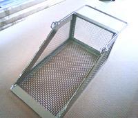 織金網・排水トラップ用メッシュカゴ・全体の画像です。